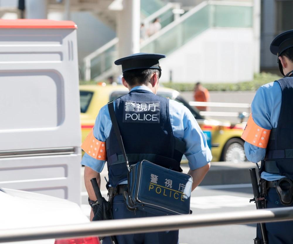 交通事故による警察官による実況見分