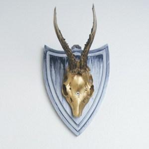 Trophée de chasse relooké