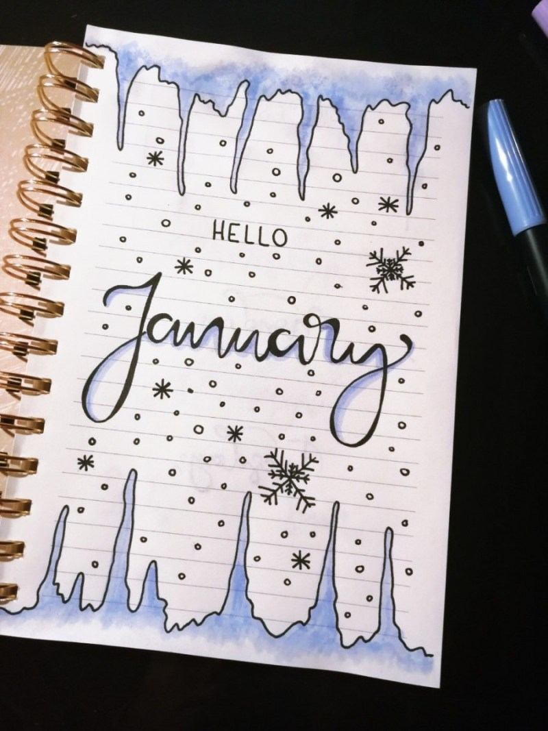 January Journal Cover