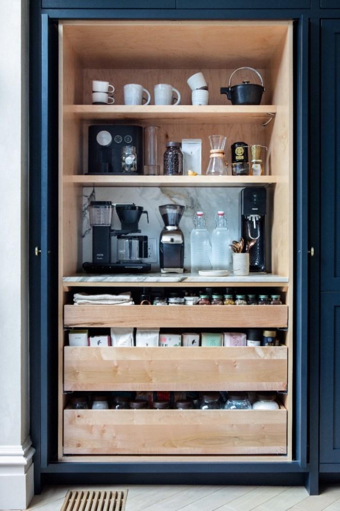 hidden coffee bar