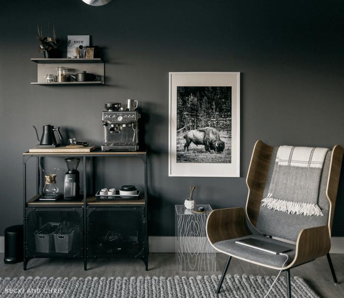 coffee and espresso bar station