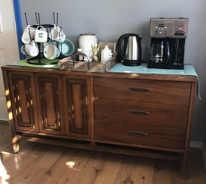 Coffee Bar set up
