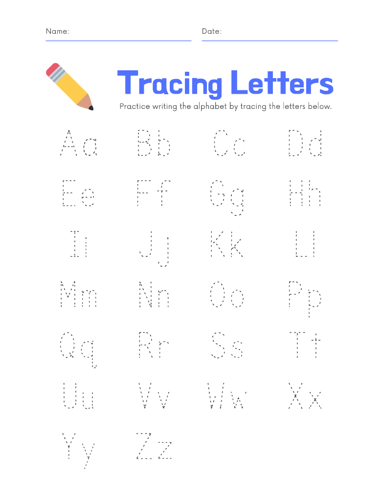 Letter aa printables and tracing worksheet
