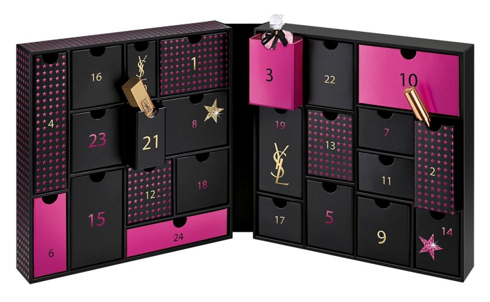 Yves Saint Laurent Calendario dell'Avvento 2019