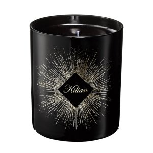 candela nera profumata Holiday Candle The Scent of Winter di Kilian