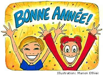 bonne annee french happy new year