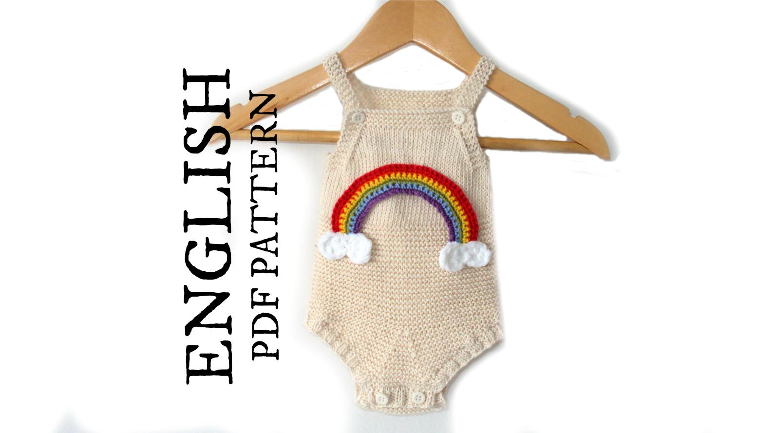 Baby Romper Knitting Pattern