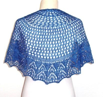 blocking shawl