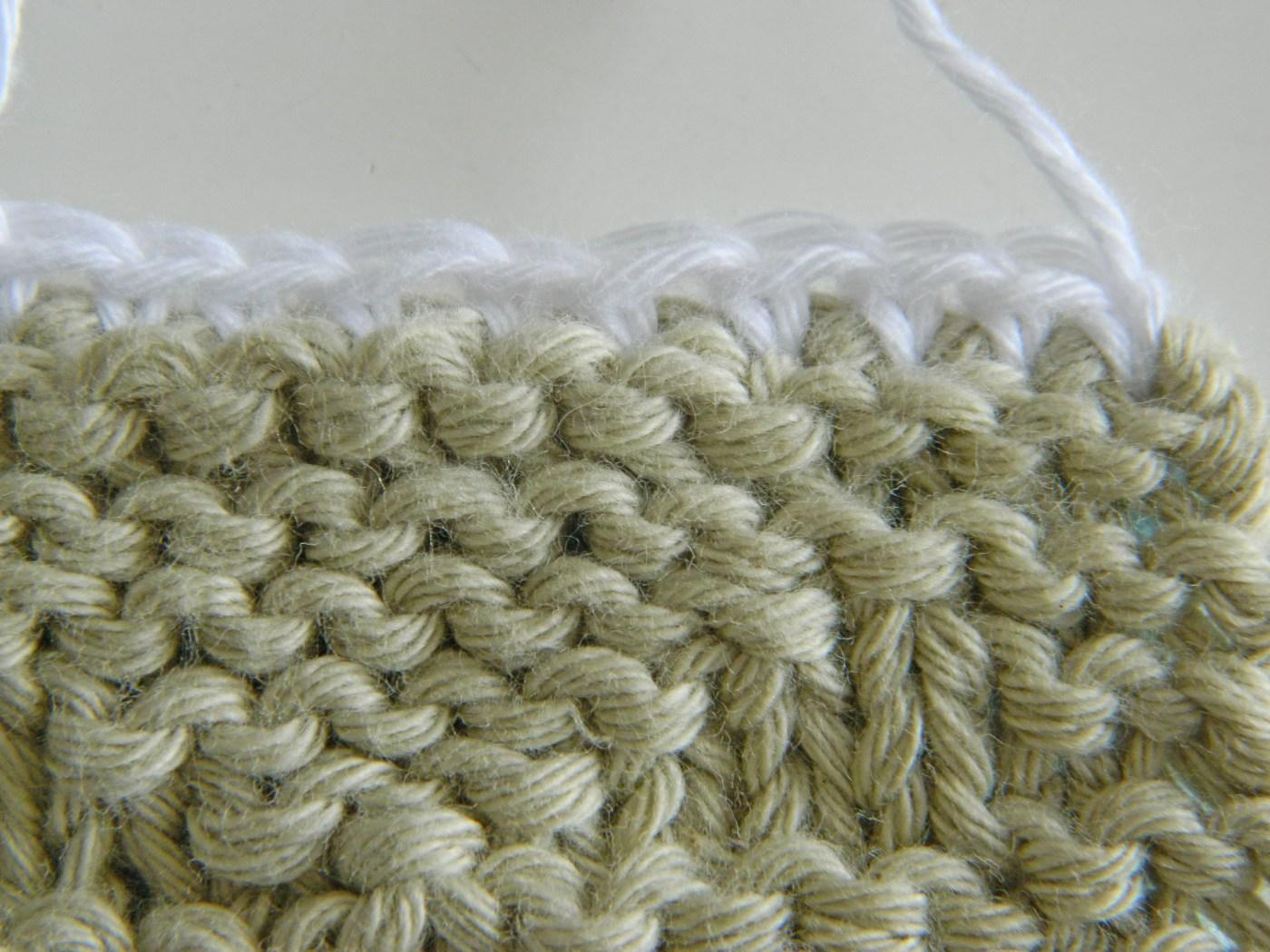 single crochet joining