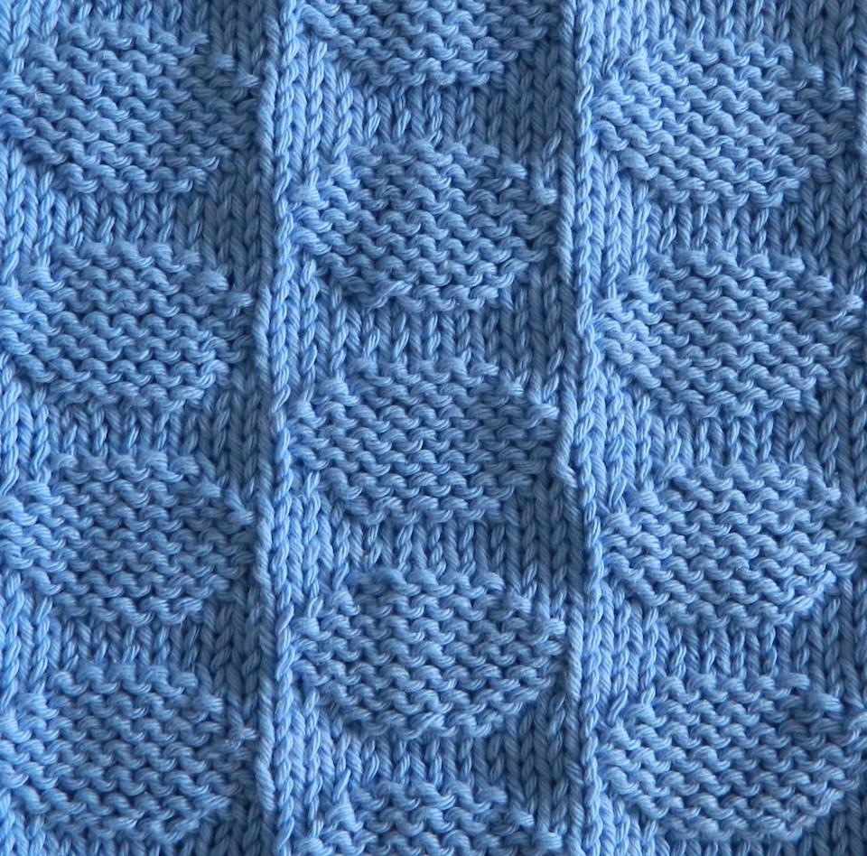 POLKA DOTS knitting pattern POLKA DOTS stitch pattern ohlalana