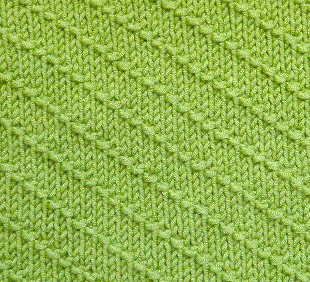 DIAGONALS knitting pattern DIAGONALS stitch pattern ohlalana