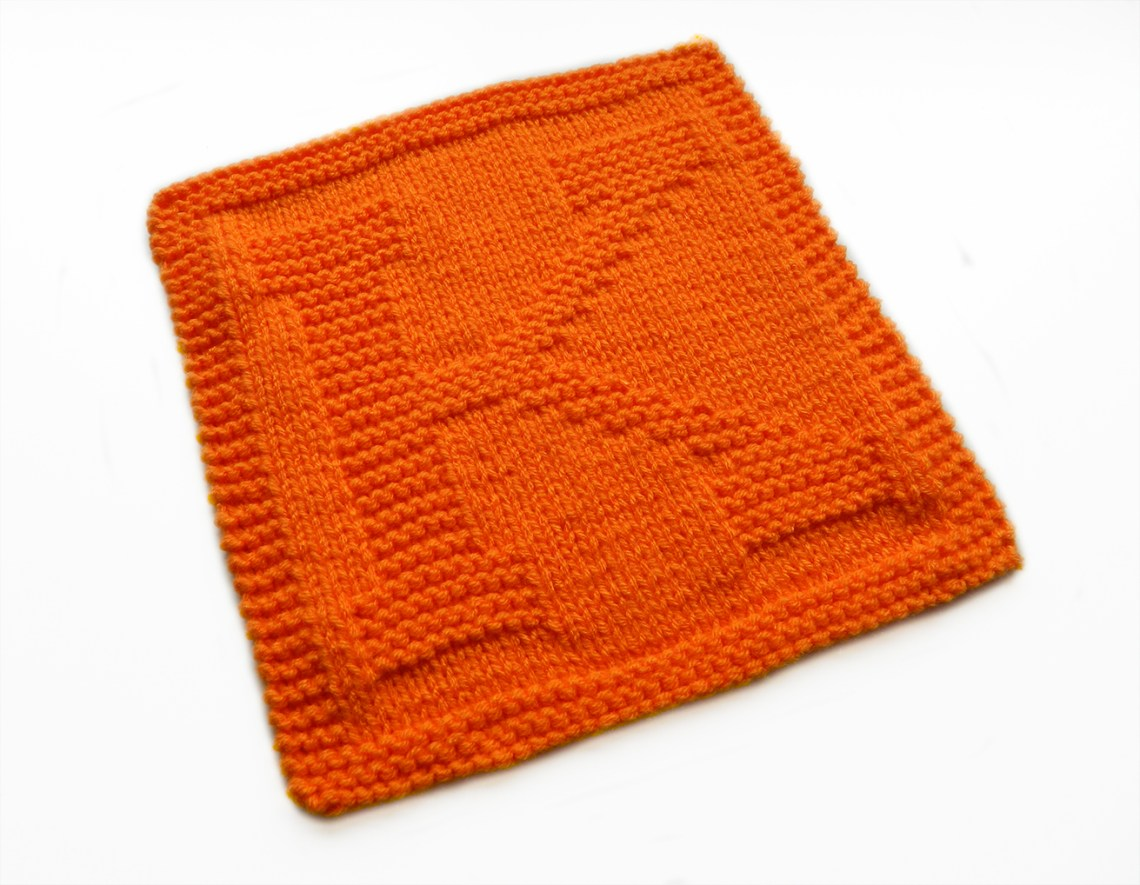 K dishcloth pattern alphabet dishcloth knitting pattern ohlalana K letter knitting pattern