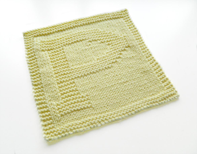 ALPHABET DISHCLOTH: P - Oh La Lana! Knitting Blog