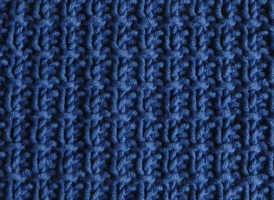 BROKEN RIB stitch knitting pattern 52 SQUARE PICKUP knitted blanket BROKEN RIB knitting pattern OhLaLana dishcloth free pattern