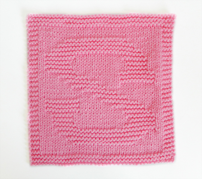 S dishcloth pattern alphabet dishcloth knitting pattern ohlalana S letter knitting pattern