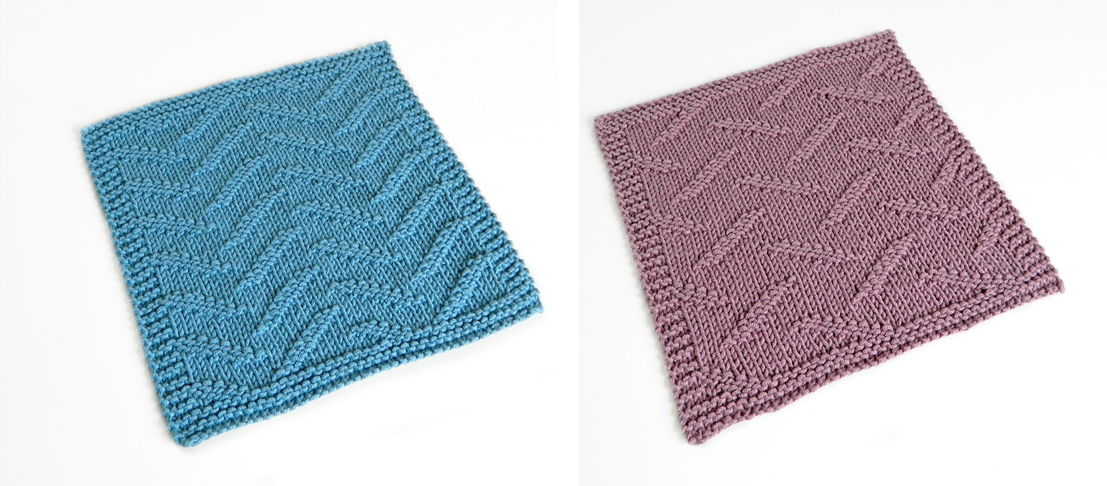 BROKEN stitch knitting pattern 52 SQUARE PICKUP knitted blanket BROKEN knitting pattern OhLaLana dishcloth free pattern