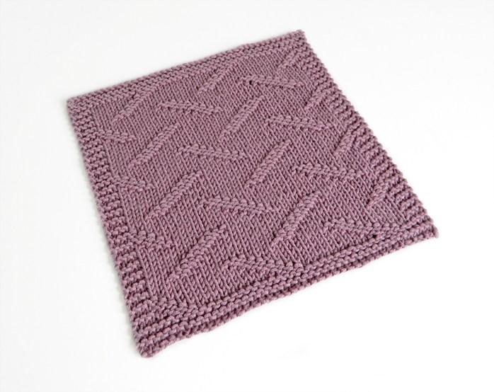 BROKEN stitch knitting pattern 52 SQUARE PICKUP knitted blanket BROKEN knitting pattern OhLaLana dishcloth free pattern