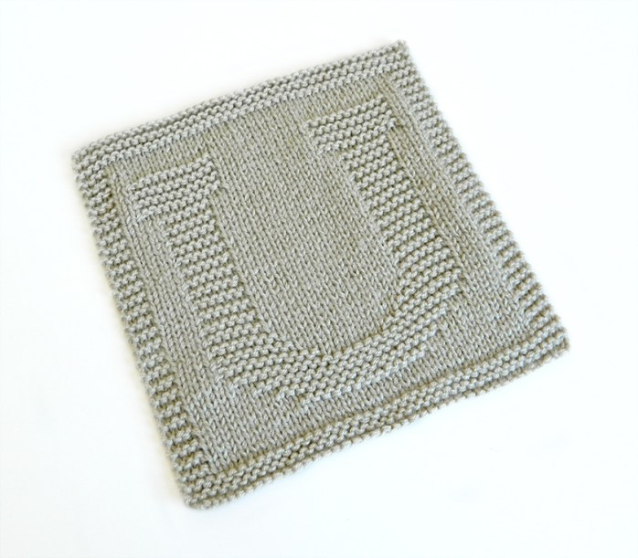 U dishcloth pattern alphabet dishcloth knitting pattern ohlalana U letter knitting pattern