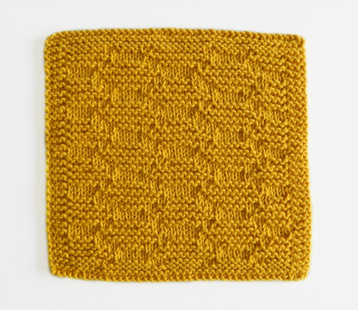 HONEYCOMB stitch knitting pattern 52 SQUARE PICKUP knitted blanket HONEYCOMB knitting pattern OhLaLana dishcloth free pattern