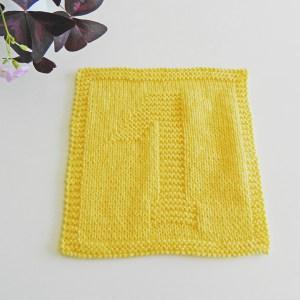1 knitting pattern