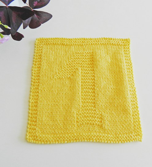 1 knitting pattern