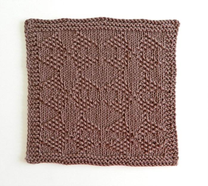 MOLINOS stitch knitting pattern 52 SQUARE PICKUP knitted blanket MOLINOS knitting pattern OhLaLana dishcloth free pattern
