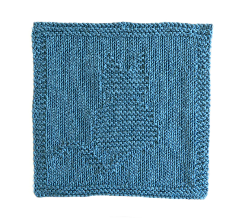 CAT dishcloth, CAT pattern, BEGINNER BLANKET MKAL 2020, CAT dishcloth pattern, CAT knitting pattern, OhLaLana dishcloth free pattern