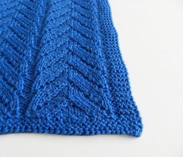 LACE N°1 pattern, lace dishcloth, lace knitting pattern, lace free pattern