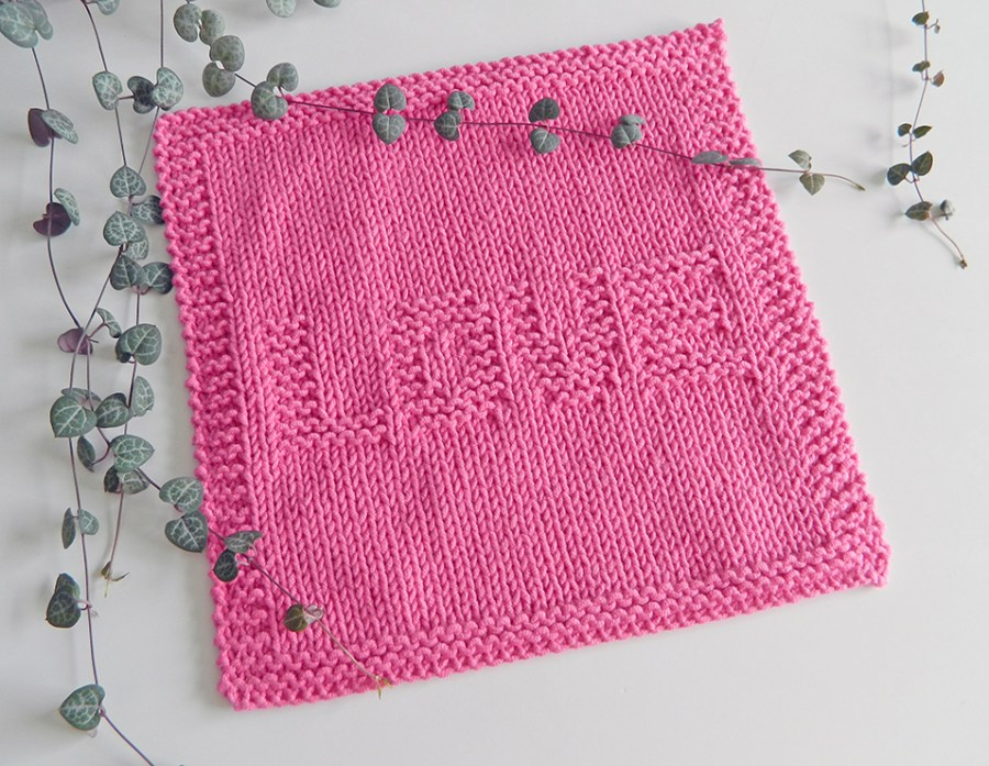 LOVE knitting pattern, ohlalana, knitting for beginners, VALENTINES knitting