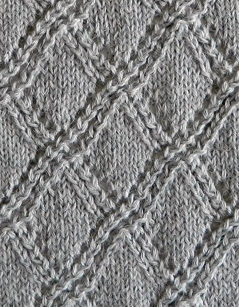 LACE N°4 pattern, lace dishcloth, lace knitting pattern, lace free pattern