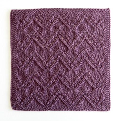 LACE N°10 pattern, lace dishcloth, lace knitting pattern, lace free pattern