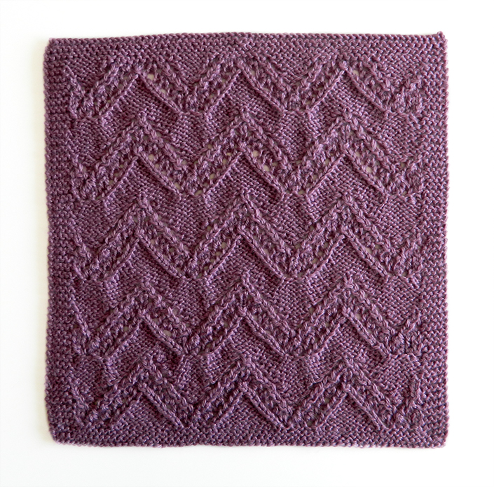 LACE N°10 pattern, lace dishcloth, lace knitting pattern, lace free pattern