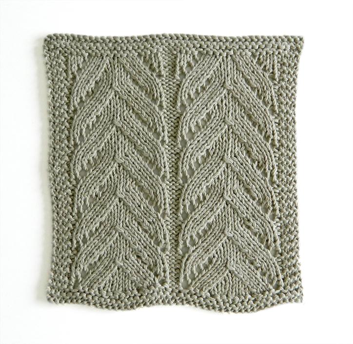 lace dishcloth, lace knitting, lace knit dishcloth, lace block, lace square, ohlalana