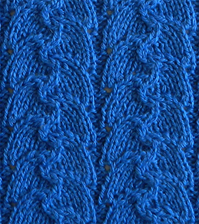 LACE N°9 pattern, lace dishcloth, lace knitting pattern, lace free pattern