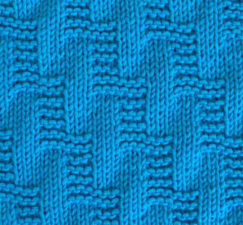 STAIRWAY stitch knitting pattern, beginner stitch pattern, STAIRWAY knitting pattern OhLaLana stitch library
