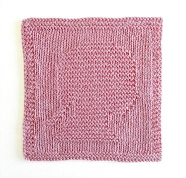 GIRL HEAD dishcloth, GIRL HEAD pattern, GIRL SILHOUETTE dishcloth pattern, KID HEAD knitting pattern, OhLaLana dishcloth free pattern
