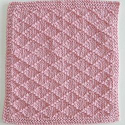 free dishcloth knitting pattern afghan block knitting pattern