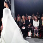 wedding dresses by monique lhullier spring 2014 collection with cape