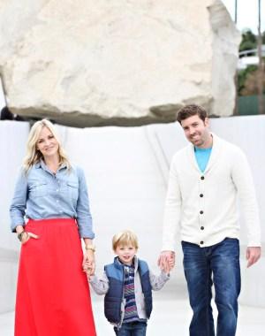 LACMA family photoshoot