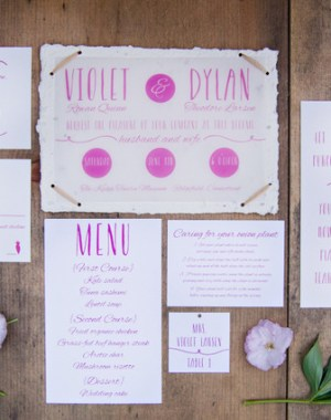Sustainable & Eco-Friendly Spring Inspiration   Amy Chamgagne Events & Ashley Therese Photography / Paper goods by Roseville Designs / Florals by Fleurescent / Cakes by Erica O'Brien Cakes /