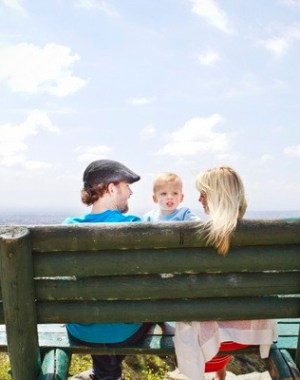 family shoot at runyon canyon los angeles
