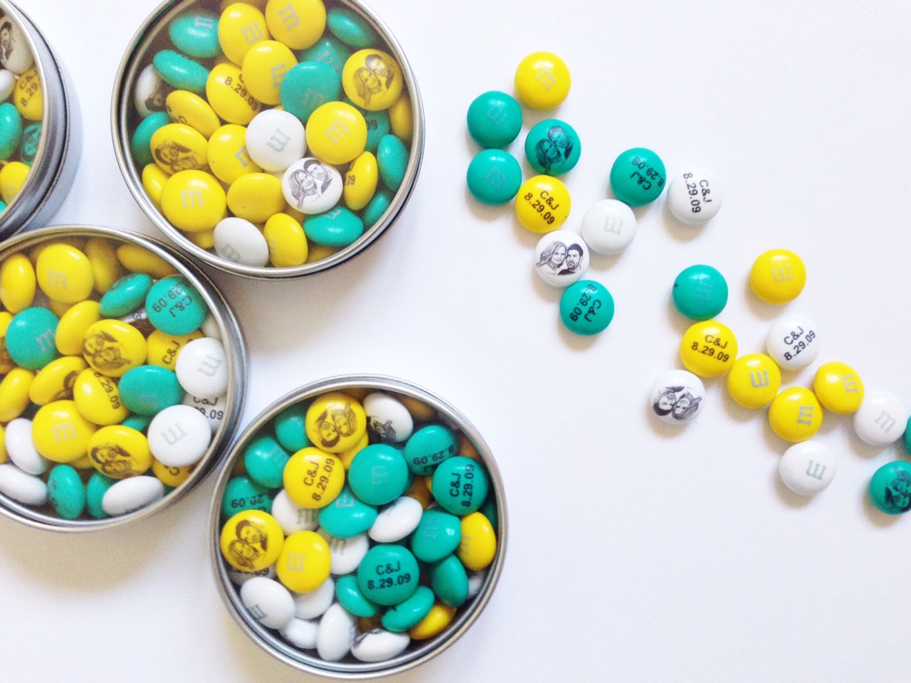 Personalize Your Wedding With My M&Ms - Oh Lovely Day