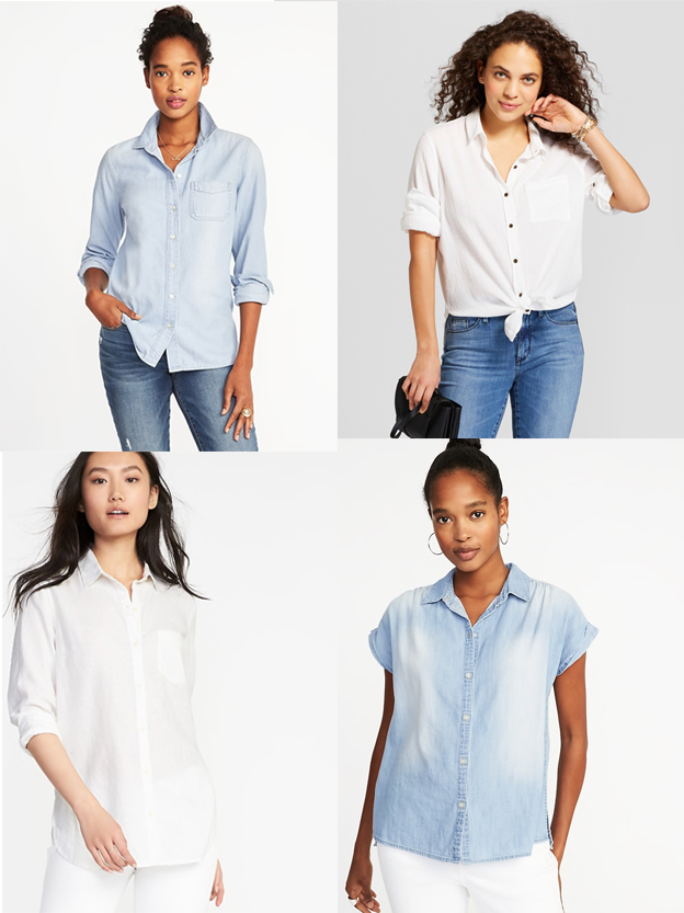 Button Down Basics | Budget-friendly Spring/Summer Capsule Wardrobe | ohlovelyday.com