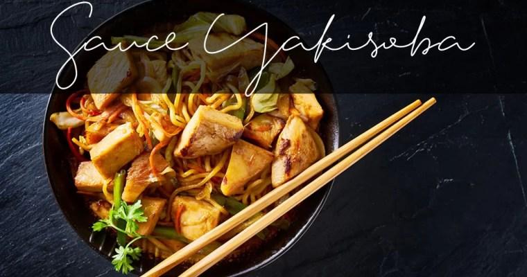 Sauce barbecue Yakisoba