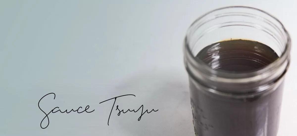 Sauce Tsuyu, version classique et version vegan