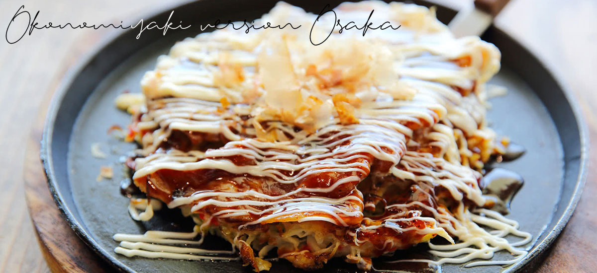 Okonomiyaki – version Osaka