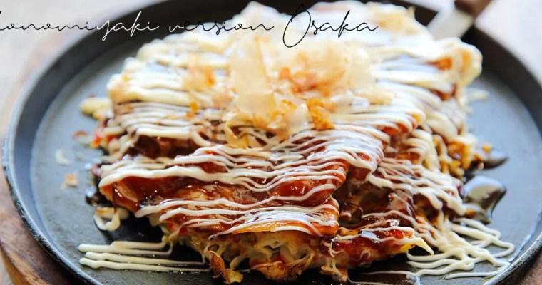Okonomiyaki – version Osaka