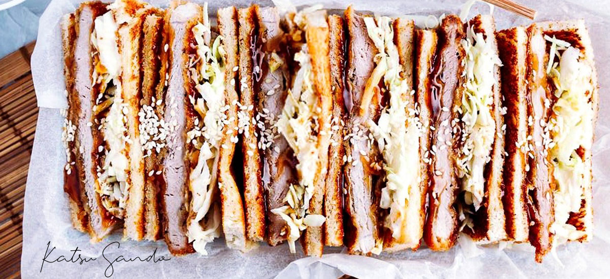 Katsu sando, le délicieux sandwich au tonkatsu