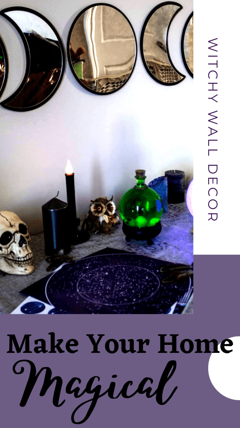 Witch Aesthetic Wall Décor Ideas To Make Your Home Magical