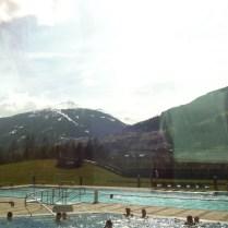 Teplá voda a hory.. :-D